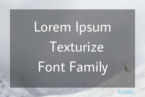 Шрифт Average Sans