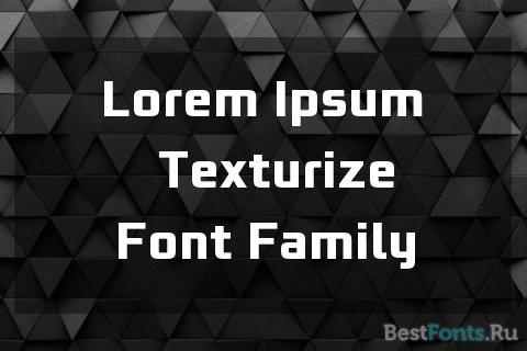 Шрифт Bunken Tech Sans Pro