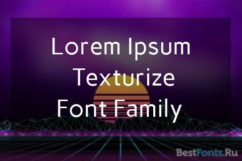 Шрифт Carme