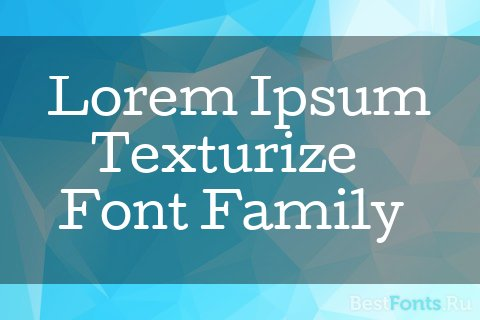 Шрифт Cutive