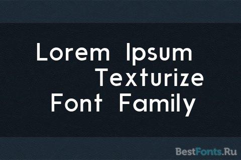 Шрифт Modern