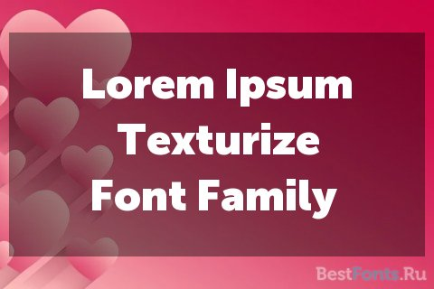 Шрифт Museo Sans Display