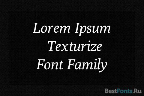 Шрифт Poly