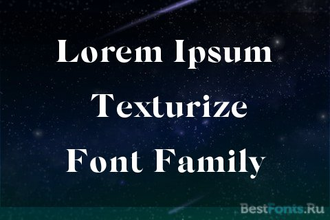 Шрифт Silk Serif
