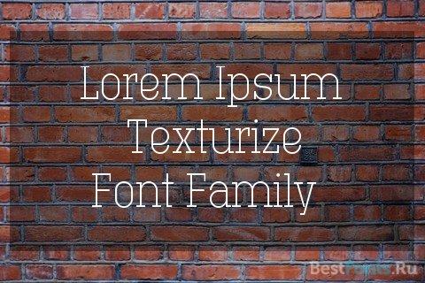 Шрифт Technik Serif